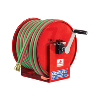 Coxreels 60m x 6mm ID hose reel at open