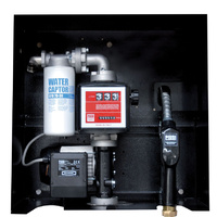 Piusi 240V refuelling kit with auto shut off nozzle and meter at 85L/min