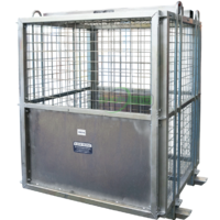 Brick Cage - High Pallets (Welded) - Working Load Limit:  2000kg