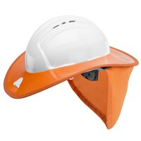 Snap Brim for Hard Hats - Orange