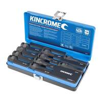 "Kincrome 10 Piece Hex Impact Socket Set 1/2"" Drive Imperial - K28211"