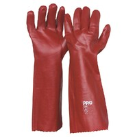 Red PVC Single Dip - Length 45cm