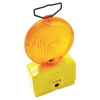 Road Safety Yellow Light + 2 x 6V Batteries