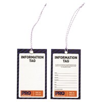 Information (Blank) Safety Tags - Pack of 100
